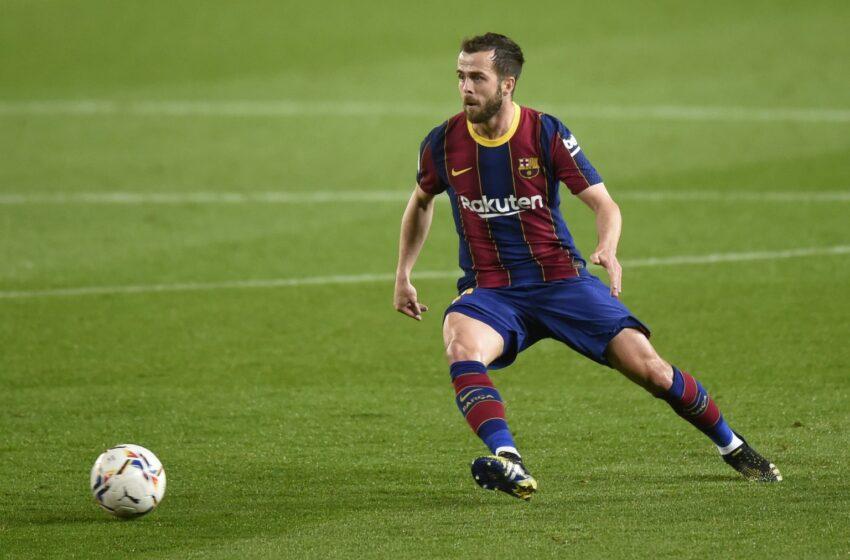 Czy Barcelona sprzeda Miralema Pjanicia?