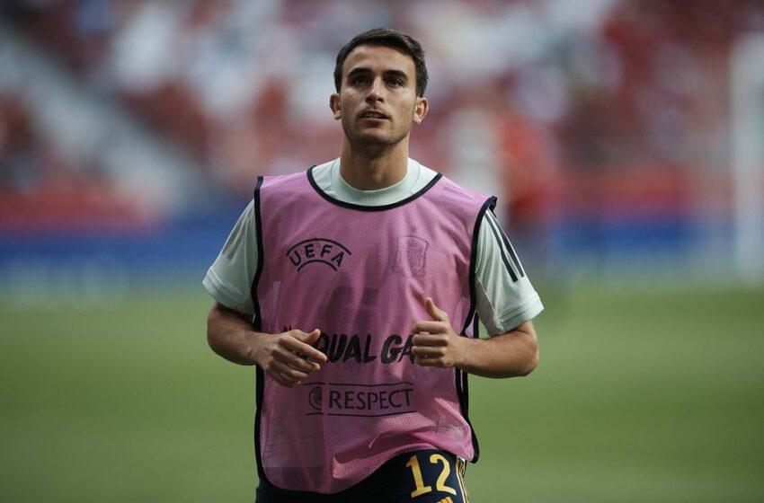 Eric Garcia zaprasza Aymerica Laporte do Barcelony